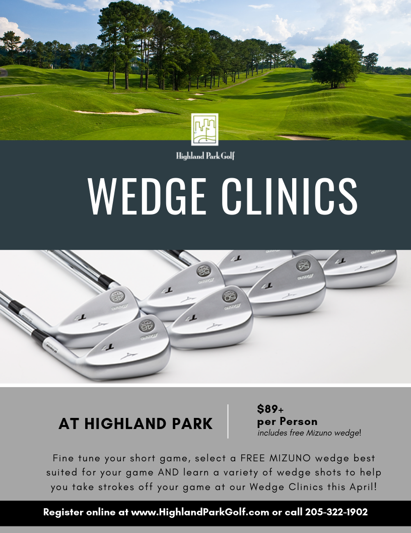 Wedge Clinics at Highland Park Golf Course